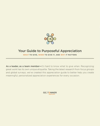 Your Guide to Purposeful Appreciation